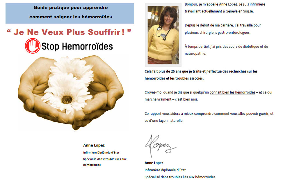 témoignages et avis stop hémorroiïdes